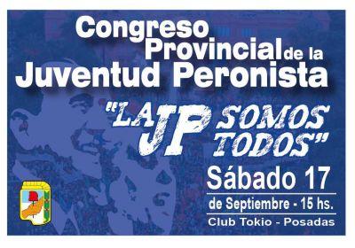 La Juventud Peronista de Misiones hará su Primer Congreso