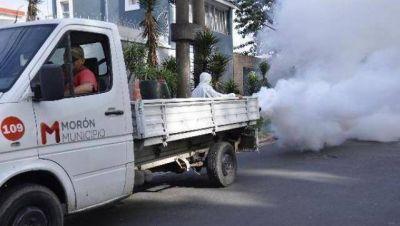 Operativos contra el dengue en el distrito