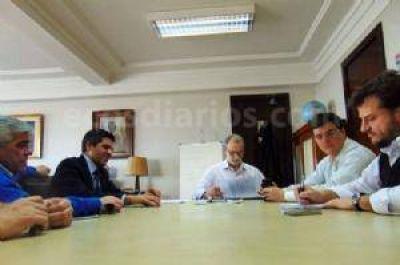 Gestiones de Domínguez Yelpo para aplicar la SUBE en Necochea