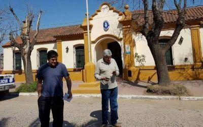 Intendente de Cambiemos denunció