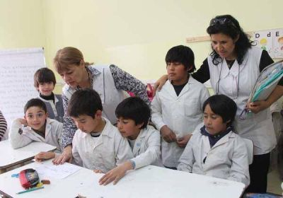 Mons. Lozano pidió una palabra de aliento, gratitud y esperanza para los docentes