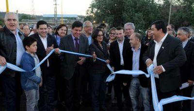 Corpacci inauguró diversas obras en El Alto