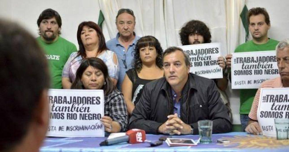 Río Negro: paro de CTA-A por persecución judicial