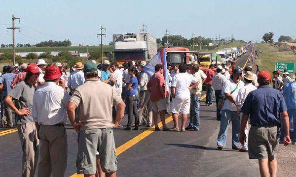 El campo podría realizar una marcha en la Capital Federal