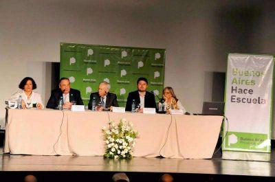 Lunghi particip� de apertura del Encuentro Provincial de Formaci�n Continua y Gesti�n Educativa
