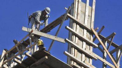 La caída en el sector de la construcción supera el promedio nacional