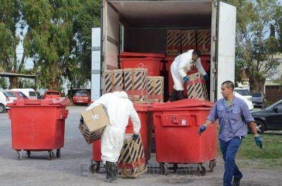 Licitaron el servicio de recolección de residuos patogénicos
