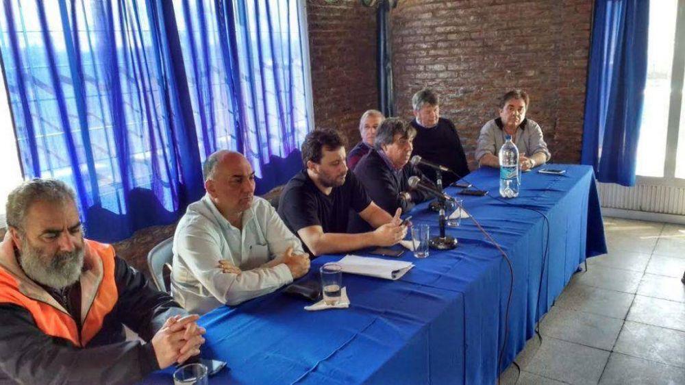 La Federación se solidarizó con los municipales declarando estado de alerta en la Provincia