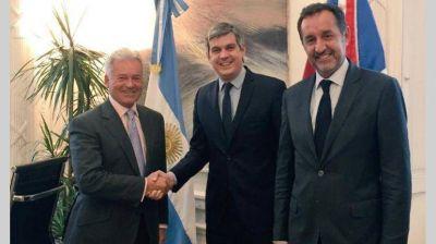 El Gobierno recibi� al vicecanciller brit�nico y hablaron de Malvinas