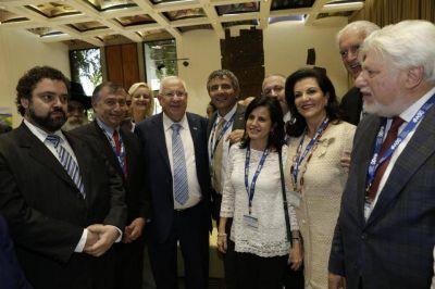 CJL. El Presidente de Israel se reunió con líderes judíos de Latinoamerica
