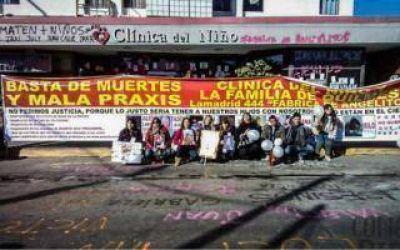 Buscan cerrar una clínica tras la muerte de 22 chicos en Quilmes