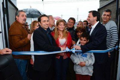 Ariel Sujarchuk inauguró una UDP pediátrica en Maquinista Savio