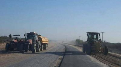 Gestionan la pavimentación de la ruta Nº 8 desde Ardiles hasta Gramilla