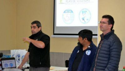 Se presentó el Plan de Viviendas de la Mutual en Las Heras