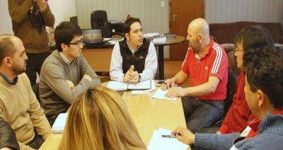 ATE se reunió con funcionarios municipales
