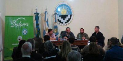 Etchevarren anunció obras por más de 10 millones de pesos