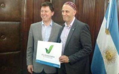 Villarino: El Intendente Bevilacqua se reuni� con el Rabino Bergman