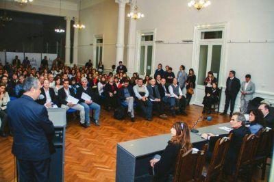 Reyes participó del lanzamiento de los programas Quiero ser residente y Municipios en acción