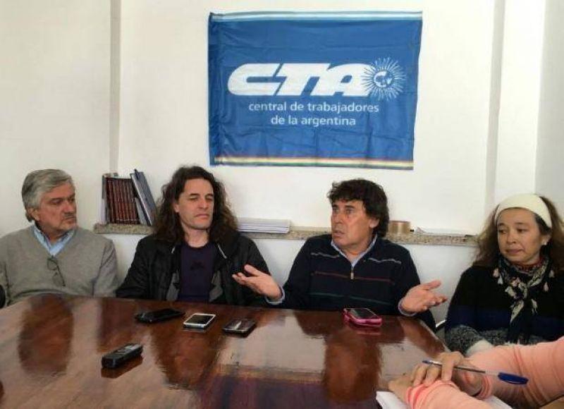 La CTA San Luis quiere plantearle a Rodríguez Saá el llamado a paritarias