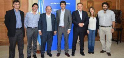 Salom�n y Gasparini firmaron convenio con Naci�n para importantes obras de infraestructura