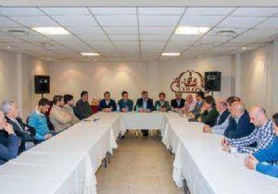 El ministro de Trabajo bonaenerse estuvo en Jun�n y mantuvo varias reuniones