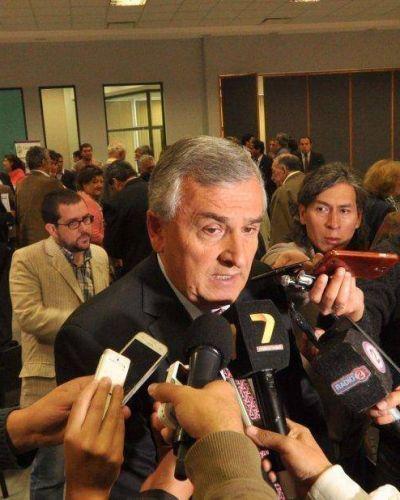 El gobernador ratific� que se descontar�n los d�as de paro
