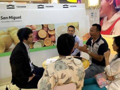 Al mercado asi�tico le sienta bien el lim�n tucumano