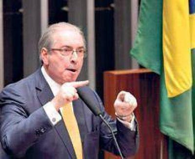 Eduardo Cunha ya tiene su propio desafuero