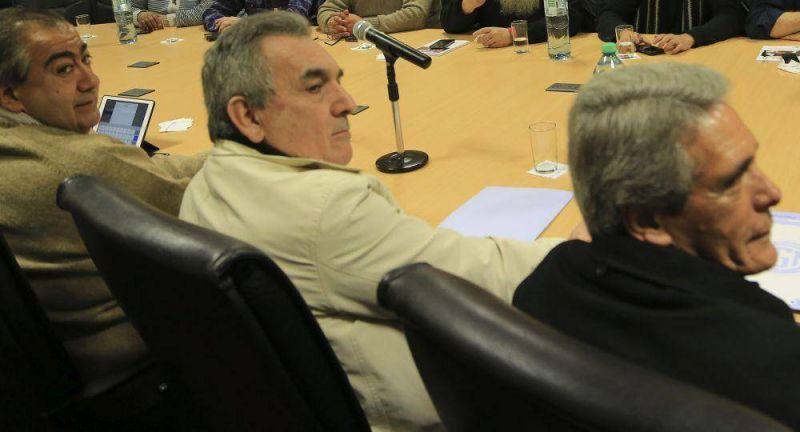 En nueva ronda de reuniones, la CGT recibi� al PJ y a la Iglesia
