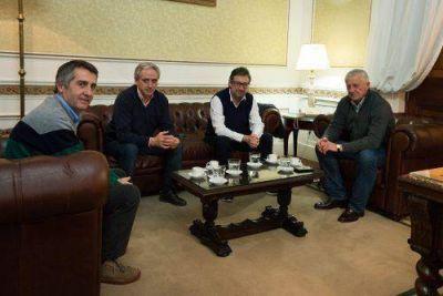 Sarghini recibió a Gastón y juntos conversaron sobre el veto de Vidal