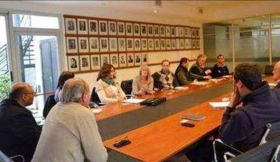 El intendente se reunió con funcionarios provinciales de agua y cloacas