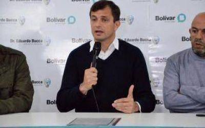 Bolívar: Bucca anunció otro aumento para los trabajadores municipales