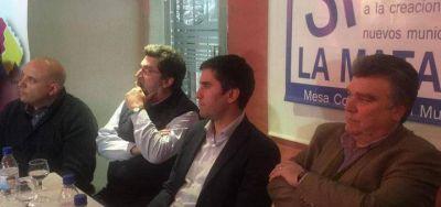 Mosca, Barragán y otros legisladores recorrieron La Matanza para consultar sobre la división