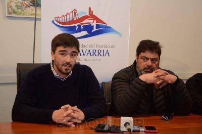 Municipales se reunieron con el intendente Galli