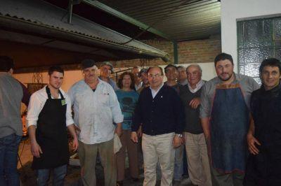 El Intendente participó de la cena por el día del Agricultor