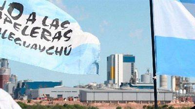 El Intendente de Gualeguaychú tuvo una reunión en Cancillería y pidió medidas para evitar la radicación de una nueva pastera en la ROU