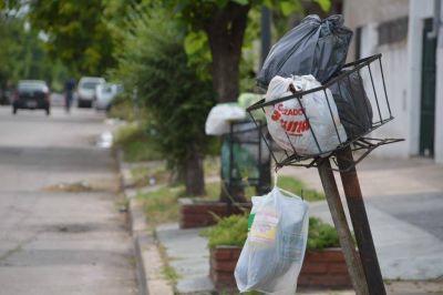 Mientras mejora el clima, normalizan el servicio de recolecci�n de residuos