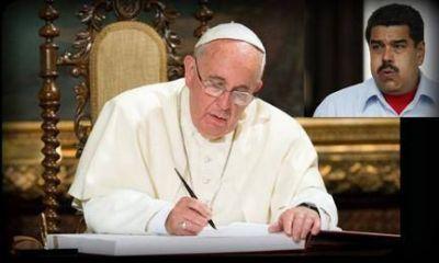 Venezuela. El Papa Francisco vuelve a intentarlo
