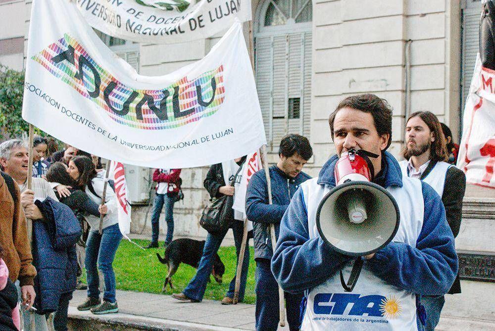 Los docentes universitarios volverán a parar por reclamos salariales