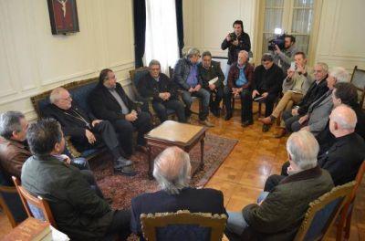 Encuentro con dirigentes gremiales de la Confederación General del Trabajo