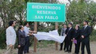 Inauguraron en Tucumán la primera reserva natural gestionada por una universidad privada