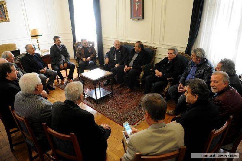 Los obispos y la CGT coinciden en el diagnóstico sobre la situación del país