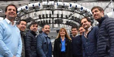 Los intendentes del Grupo Fénix en Merlo buscando consolidarse