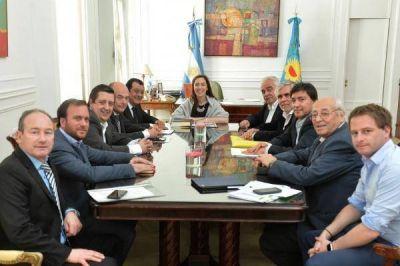 Vidal recibió al peronismo de la Sexta: presupuesto, narcotráfico y gobernabilidad
