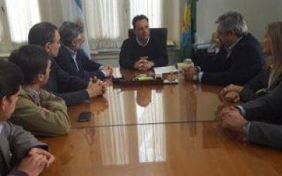 Chacabuco: El Intendente recibió al Ministro de Trabajo bonaerense