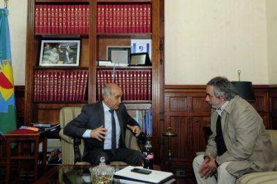 """""""Yo soy radical y estoy en Cambiemos"""", declaró Miguel Fernández luego de reunirse con el vicegobernador"""