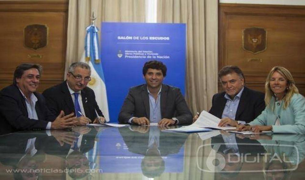 Nación destinará 185 millones de pesos para obras de agua potable y cloacas en Posadas y San Ignacio