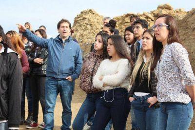 Estudiantes de tres escuelas visitaron la planta de tratamiento de residuos