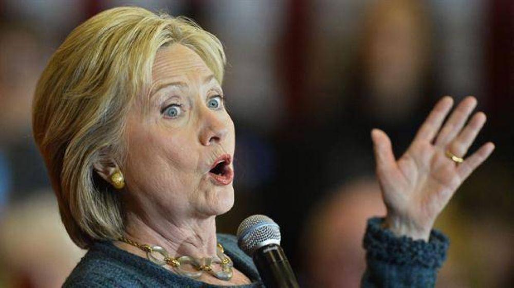 Hillary sale a recuperar el terreno perdido