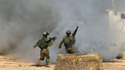 Israel bombarde� la Franja de Gaza tras la ca�da de un cohete palestino en el sur del pa�s
